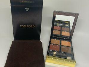 NIB! Tom Ford Eye Color Quad shadow Palette #26 Leopard Sun! Rich Colors!!