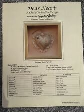 Rainbow Gallery Cheryl Schaeffer Design Cross Stitch Pattern CARO Cuore