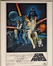 John Williams Signed Autographed 11x14 Star Wars Poster Rare Jaws Jurrassic Park