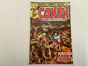 Conan The Barbarian 24 Bronze Age Key Comic Book First Appearance