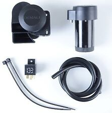 R&G Denali Soundbomb Compact Motorcycle Horn 120dB LOUD with Plug & Play Wiring