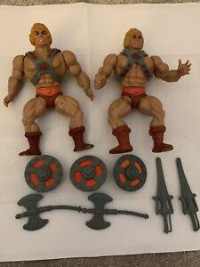 Vintage - He-Man 1981 & 1982 Taiwan - He-Man - MOTU 100% Original & Complete.