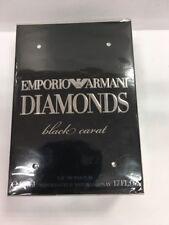 EMPORIO ARMANI DIAMONDS BLACK CARAT  FOR HER 50ML 1.7FL OZ NEW IN SEAL BOX