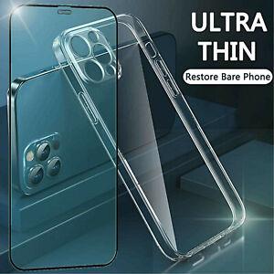 COVER per iPhone 12 11 Pro Max Custodia Protezione Fotocamera + Vetro Temperato
