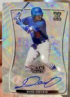 2020 Leaf Metal Draft Diego Cartaya Silver Wave Auto LA Dodgers BA-DC2 SP