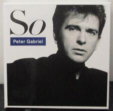 PETER GABRIEL - So ~ 3 x CD ALBUM BOX SET + PHOTOS & BOOKLET