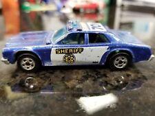 VINTAGE HOT WHEELS SHERIFF POLICE PATROL 701 DIECAST CAR 1977  MALAYSIA