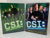 CSI: Crime Scene Investigation: Season 1 and 2 Lot DVD New Factory Sealed