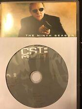 CSI: Miami - Season 9, Disc 4 REPLACEMENT DISC (not full season)