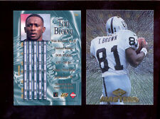 1997 CE Collectors Edge Masters TIM BROWN Oakland Raiders Card