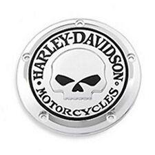 Harley Davidson OEM ORIGINAL Willie G Skull Derby cover Twin Cam 1999 -2015