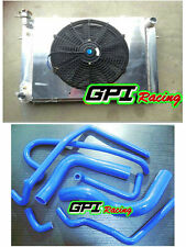 Aluminum Radiator &Shroud +fan +HOSE Holden V8 Commodore VG VL VN VP VR VS AT/MT