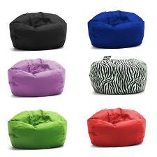 Big Joe Round Bean Bag Chair Teens Kids Durable Unisex Cozy Gaming Seat Lounger