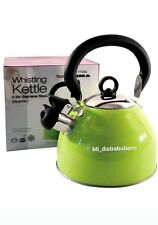 Whistling Kettle PRIMA Stainless Steel 2.5 Ltr Phenolic Handle Kitchenware