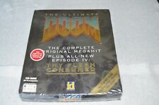 New & Sealed! Ultimate Doom PC Game - Big Box