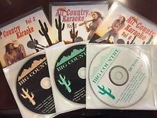 ALL COUNTRY KARAOKE 6 DISC SET CD+G 94 TRACKS