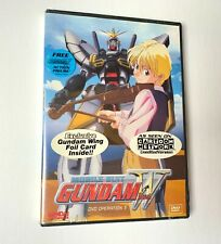 Mobile Suit Gundam Wing DVD Operation 3 (Bandai) with Foil Card New Sealed