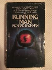 The Running Man Stephen King Richard Bachman First Edition 1st Printing Signet