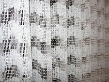 Gardine Stores-Faltenband-Bleibandabschluß, B=420 cm, H=235 cm, Dekobr.=160 cm