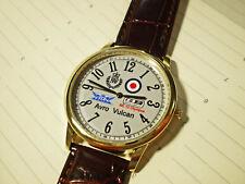 RAF Royal Air Force Avro Vulcan Wrist Watch. Vulcan Bomber 1956 to 1984
