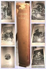 Classic - MICHAEL STROGOFF - antiquarian 1905 edition of Jules Verne Scribners