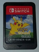 _( Pokemon Let's go Pikachu x Console Nintendo Switch & Lite PAL EUR )_