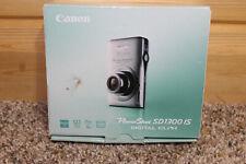Canon PowerShot Digital ELPH SD1300 IS / IXUS 105 12.1MP Digital Camera - Gray