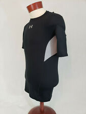 Under Armour Mens CoolSwitch Compression Short Sleeve Tee T shirt Black L NWT