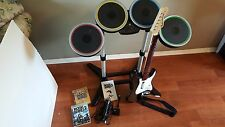 Rock Band 2 game & instrument bundle Playstation 3, 2008 plus Country Track Pack