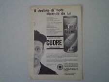 advertising Pubblicità 1964 OLIO CUORE