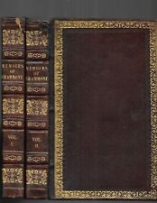 Memoirs of Count Grammont, by Count A. Hamilton.London. 1828. in 2 vols.