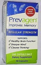 Prevagen Regular Strength 30 Capsules New in Box Improves Brain Memory 10mg Mind