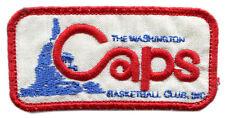 "1969-70 Washington Caps Aba Basketball Hardwood Classics 3"" Team Logo Patch"
