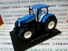 Tracteur 1/43 universal Hobbies n° 150 : NEW HOLLAND T7070 2009