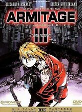 Armitage Iii Poly-Matrix: An Animated Motion Picture (Dvd, 1997)