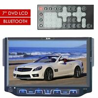"XTREMEVISION Single Din 7"" Bluetooth DVD CD RECEIVER TFT TOUCHSCREEN USB SD MMC"