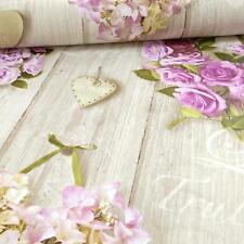 Grandeco Vintage Hearts Lilac Wallpaper A14502 Cladding Floral Rose