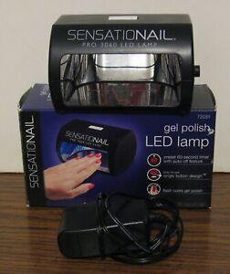 Sensationail Pro 3060 Fingernail Gel Polish LED Curing Lamp
