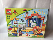 Lego Duplo Ville Cirque-Clown, la piste, lion, éléphant, Artist Set 5593 in neuf dans sa boîte