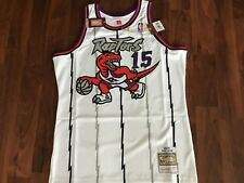 Vince Carter Toronto Raptors Large Mitchell and Ness Swingman Jersey 1998-99
