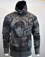 SILVER STAR Mens Sweater Hoodie M Medium Sweatshirt Hooded Jacket Zip Up NEW