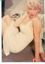 MARILYN MONROE-SEVEN YEAR ITCH-WHITE DRESS-SITTING ON FLOOR-4X6(#29*)
