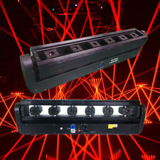 6 Eyes Red Laser Light Dmx512 Beam Projector Moving Head Stage Light Effect Us