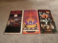 Big Audio Dynamite Lot 3 CD Long Box Only - No Disc No CD The Clash