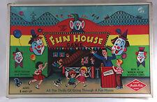 Vintage The Fun House Board Game Warren Built-Rite 1950