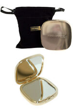 Dolce & Gabbana Pocket Compact Mirror in Black Pouch