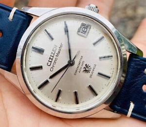 1968 Citizen Chronomaster Auto Date Chronometer 33J Automatic Watch