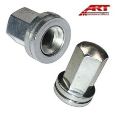 4 x CHROME Extended Steel Tuner Verrouillage Roue Boulons M12 X 1.25 Mm Citroen Peugeot