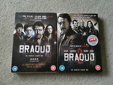 Braquo - Season Series 1 And 2 - DVD - Nordic Noir - REGION 2 -  FREE POST