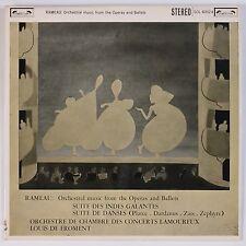 RAMEAU: Orchestral Music Ballet Operas L'OISEAU LYRE Stereo UK LP
